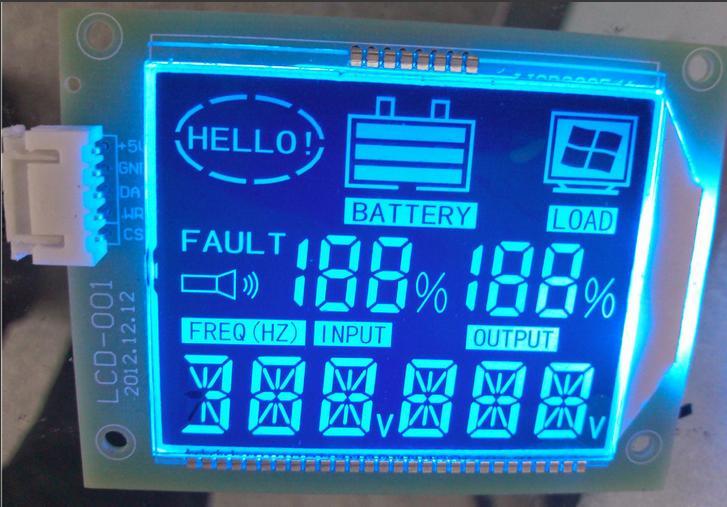 出口定制超宽温LCD液晶屏