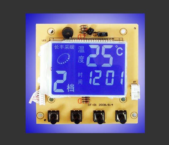 供暖设备专用LCD液晶屏-客户定制