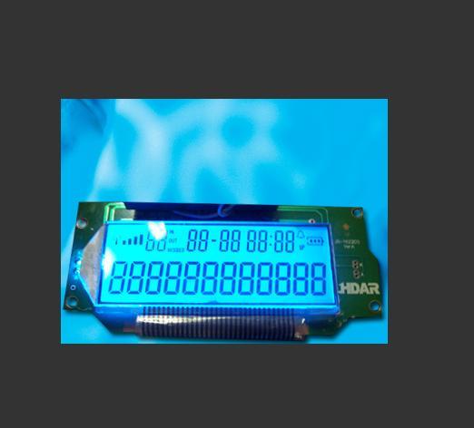 数字指示LCD蓝膜液晶屏