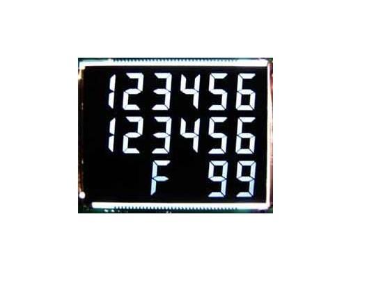 加油机专用VA黑膜LCD液晶屏