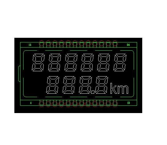 黑膜液晶屏产品1