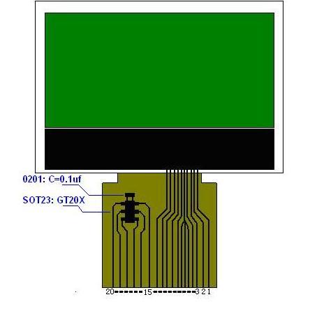 医疗器械COG液晶屏
