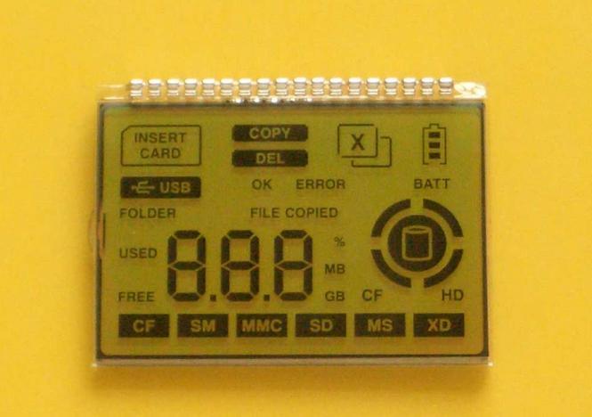 宽温LCD液晶显示屏