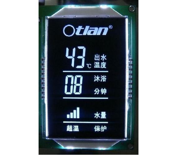 热水器专用VA液晶显示屏LCD