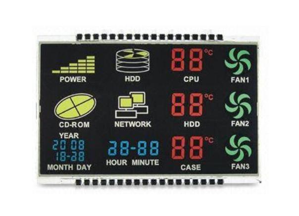 计步器专用STN液晶屏生产厂家