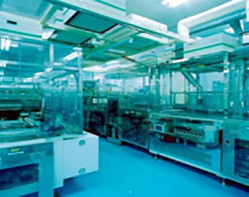 安卡电子内部生产设备图