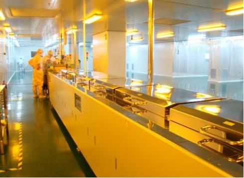 安卡电子流水线生产环境